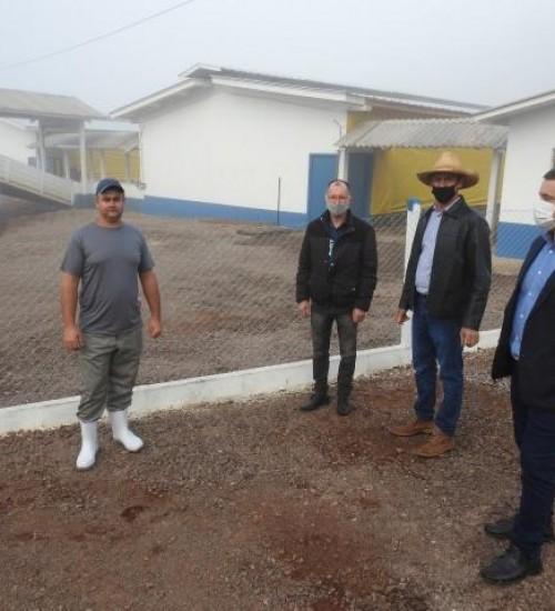 Primeira granja a fornecer suínos para a JBS entra em operação em SMOeste.