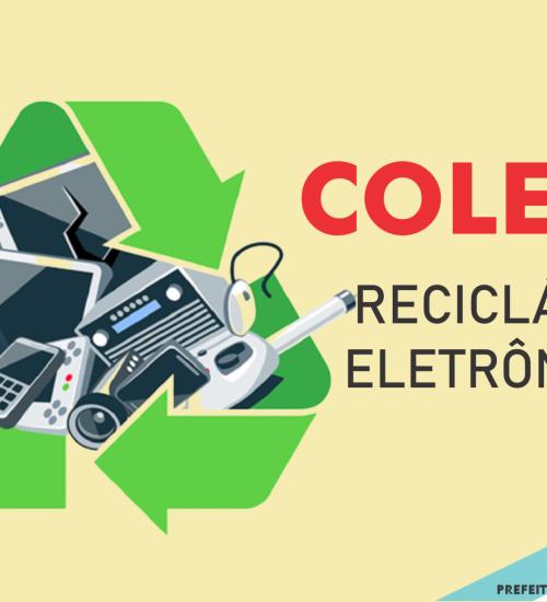 Coleta de recicláveis eletrônicos encerra nessa sexta-feira.