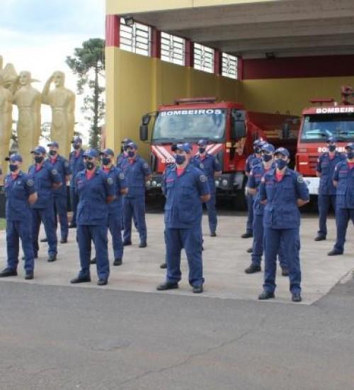 Extremo-Oeste recebe 21 novos soldados do Corpo de Bombeiros.