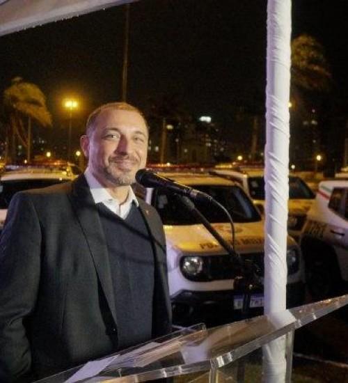 Governador participará de solenidade de entrega de viaturas para PM, em SMOeste.