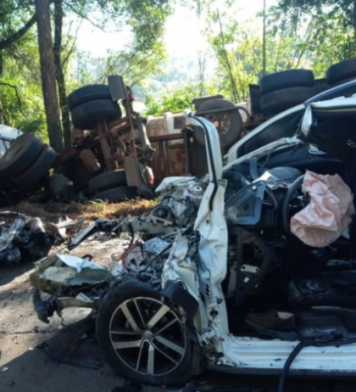 Homem morre em grave acidente entre Maravilha e Pinhalzinho.