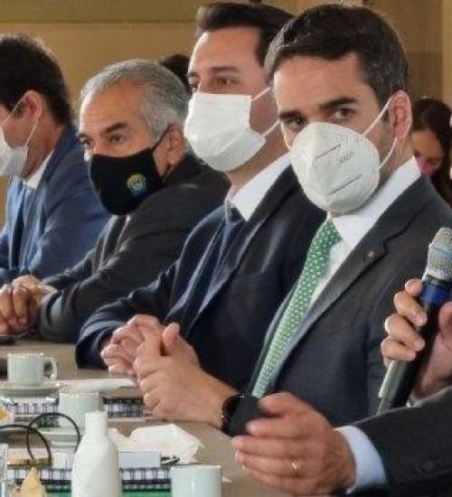 Carlos Moisés e governadores do PR, RS e MS debatem planejamento para os próximos 20 anos.