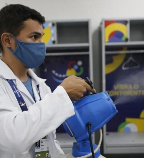 Conmebol registra 140 casos de Covid-19 na Copa América.