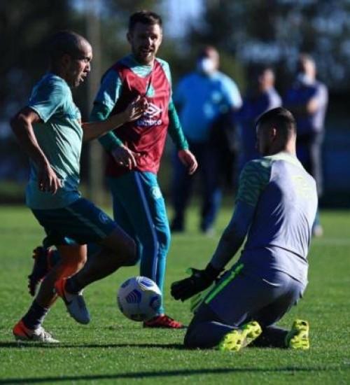Chapecoense intensifica preparação para enfrentar o Juventude.