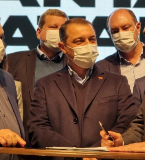 Governador libera R$ 62 milhões para investimentos na cidade de Chapecó.