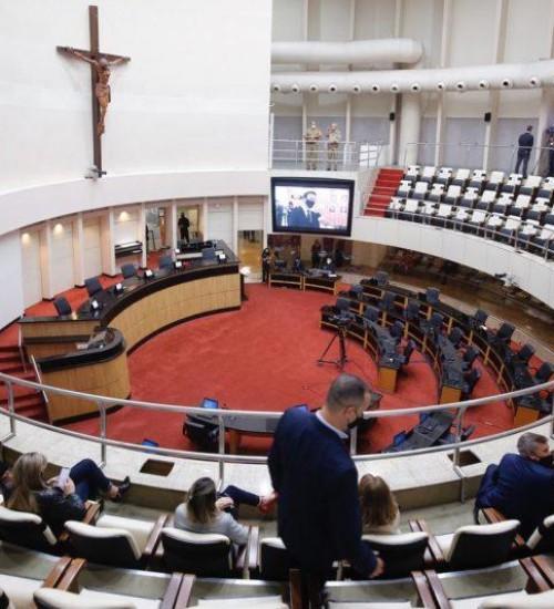 Governo enviará à Alesc substitutivo global à reforma da Previdência.