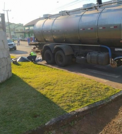 Homem morre atropelado enquanto dormia embaixo de caminhão em Caibi.