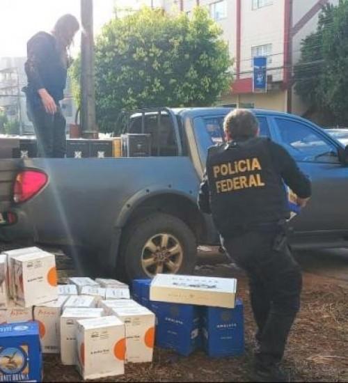 PF de SC mira venda ilegal de vinho da argentina no Brasil.