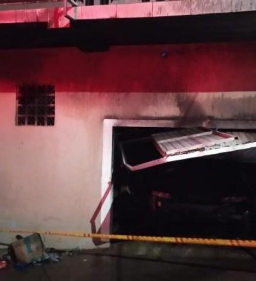 Incêndio em residência causa estragos em Itapiranga.