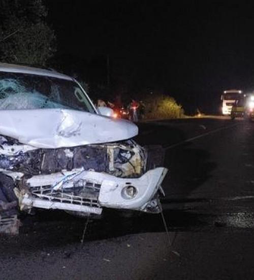 Acidentes na BR-282 já acumulam 68 mortes neste ano e PRF alerta para imprudência dos motoristas.