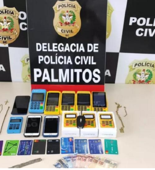 Estelionatários aplicam golpe do cartão em novas vítimas no Oeste.
