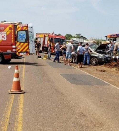 Morre condutor de veículo envolvido em acidente na SC 163.