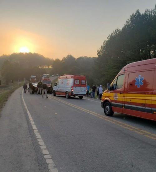 SC quer usar dinheiro estadual para terceira faixa no local do acidente que vitimou vocalista do Garotos de Ouro.