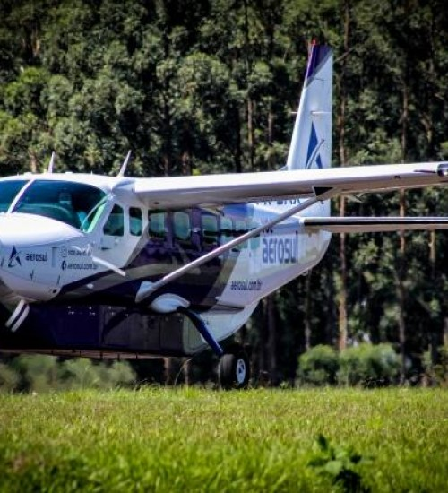 VÍDEO: Aerosul apresenta aeronave que fará voos regulares entre SMOeste e Florianópolis.