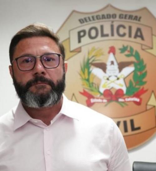 Conheça o novo delegado-geral da Polícia Civil de SC.
