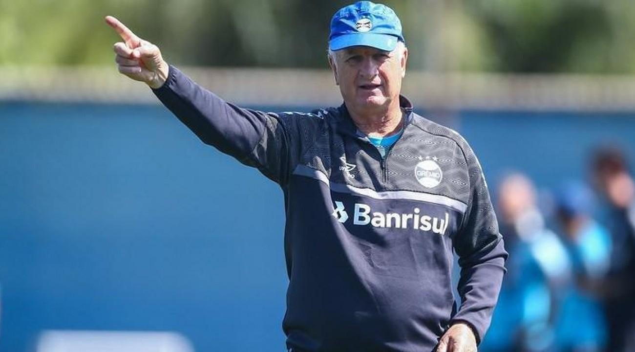 Felipão acerta saída e não é mais técnico do Grêmio