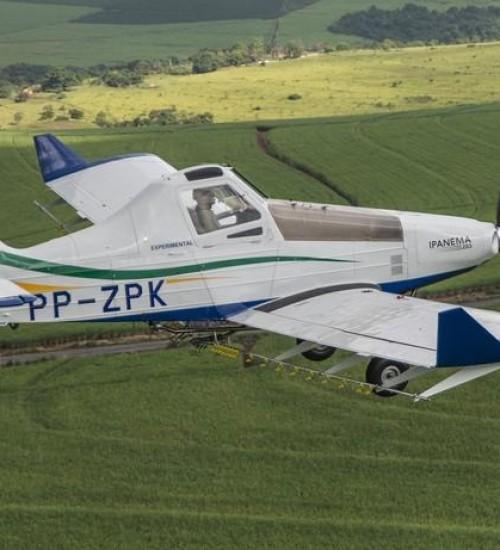 Vendas de aviões para produtores e empresas aeroagrícolas aumentam em 50%.