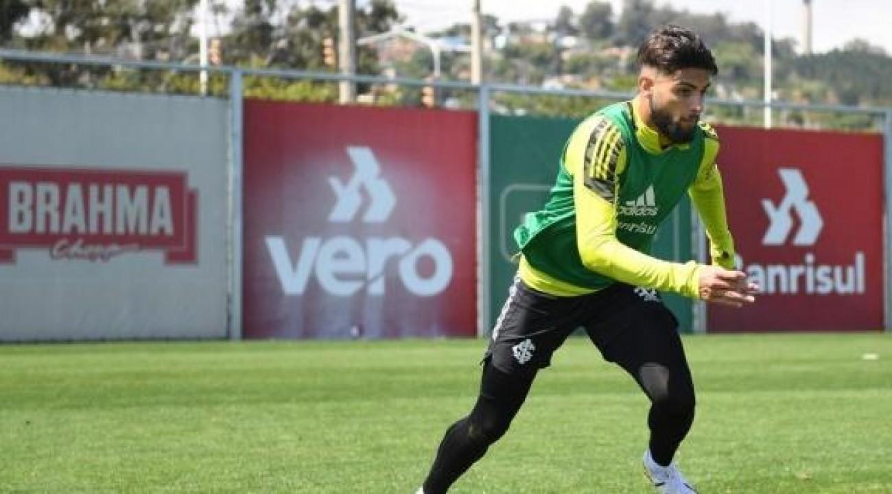 Yuri Alberto projeta primeiro encontro com a torcida do Inter: